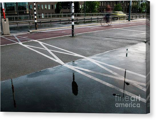 Canvas Print featuring the photograph After The Rain by Ana Mireles