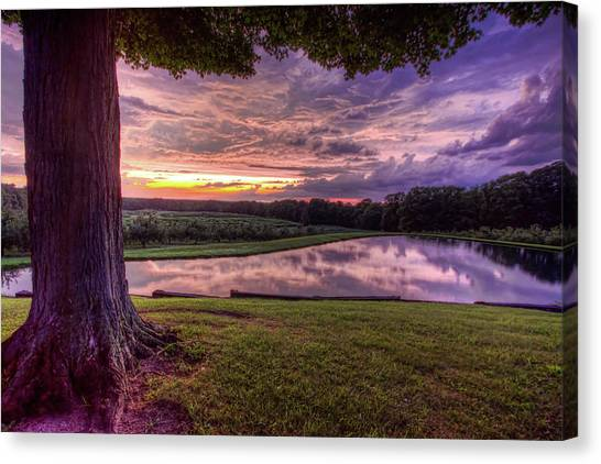 After The Storm At Mapleside Farms Canvas Print