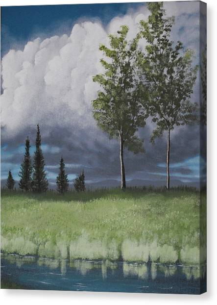 After The Storm Canvas Print by Candace Shockley
