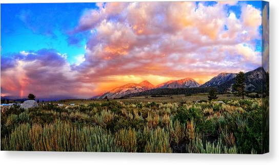 After The Storm Panorama Canvas Print