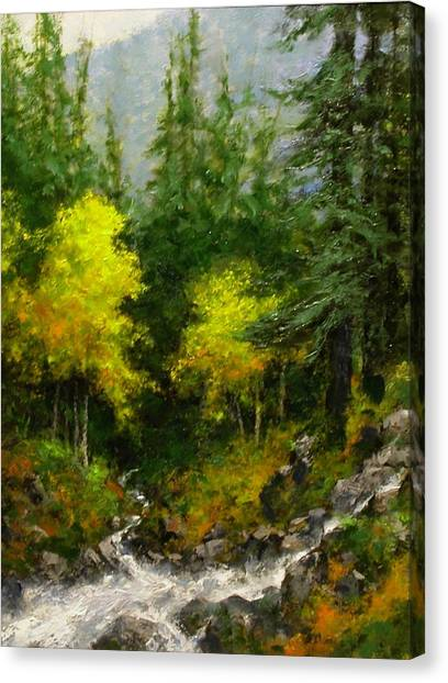 Canvas Print - After The Storm September by Jim Gola