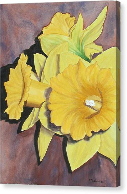 After The Tulips Canvas Print by Robert Thomaston