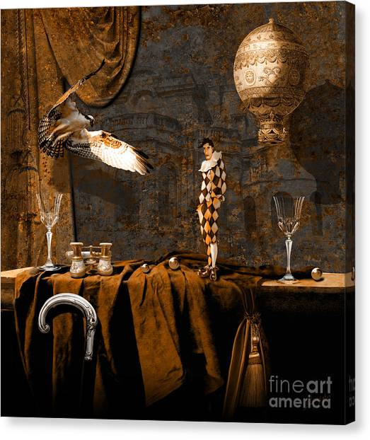 After Theater Canvas Print
