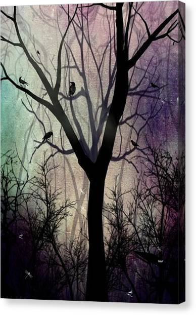 After Twilight Canvas Print by Charlene Zatloukal