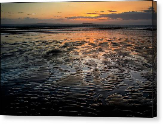 Afterglow At Penmaenmawr Canvas Print