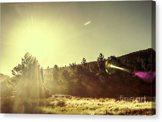 Rural Canvas Print - Afterglow by Jorgo Photography - Wall Art Gallery