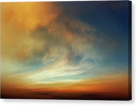 Sublime Canvas Print - Afterglow by Lonnie Christopher
