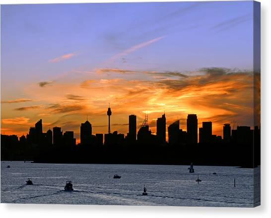 Afterglow Canvas Print