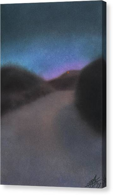 Afterglow Canvas Print by Robin Street-Morris