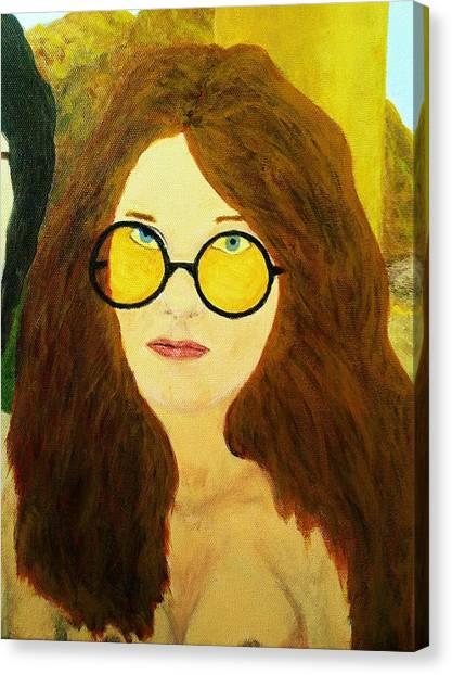Afterlife Concerto Janis Joplin Canvas Print