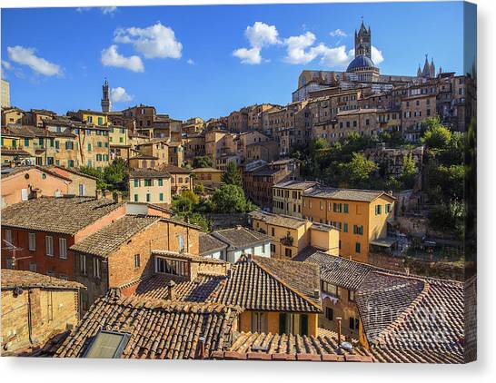 Afternoon In Siena Canvas Print