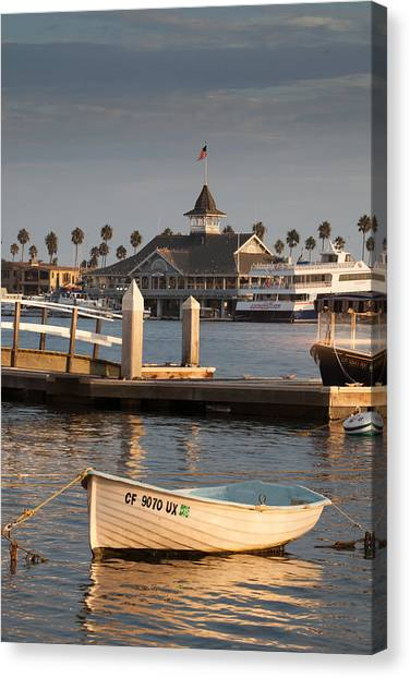Afternoon Light Balboa Island Canvas Print