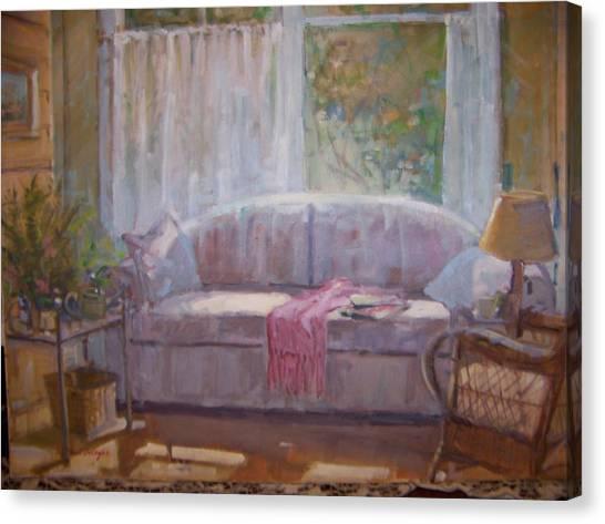 Afternoon Light. Canvas Print