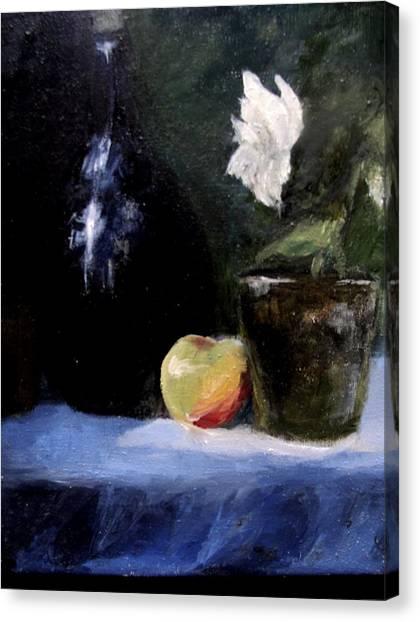 Afternoon Still Life  Canvas Print by Susan Tilley