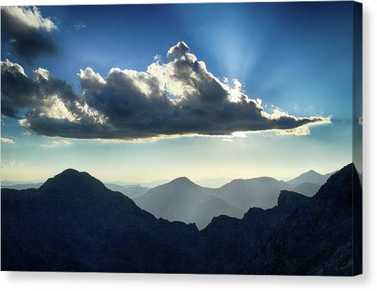 Afternoon Sunburst Canvas Print