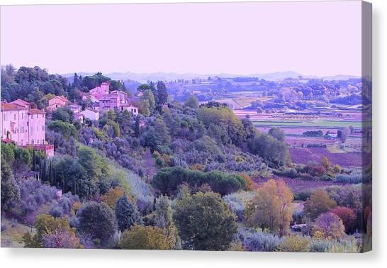 Canvas Print - Afternoon, Tuscany by Slawek Aniol