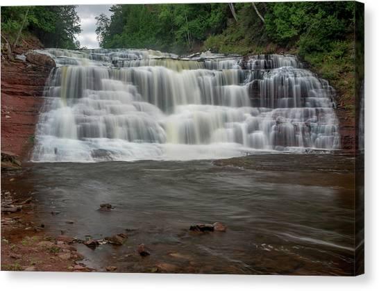 Agate Falls Canvas Print