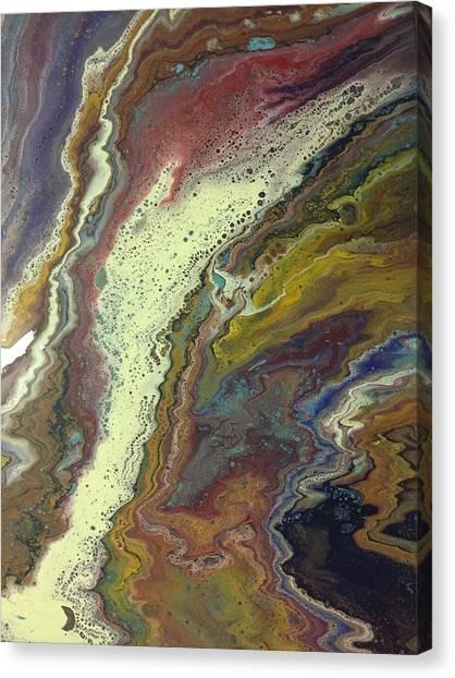Agate Waterfall Canvas Print