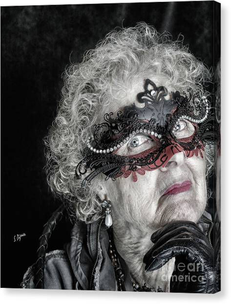 Age Is Not A Victim  Canvas Print by Steven Digman