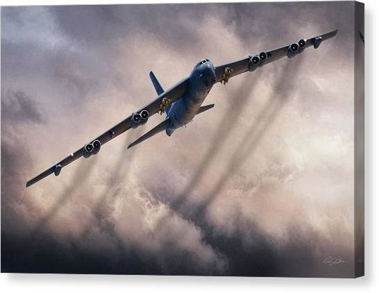 Cold War Canvas Print - Ageless Warrior by Peter Chilelli