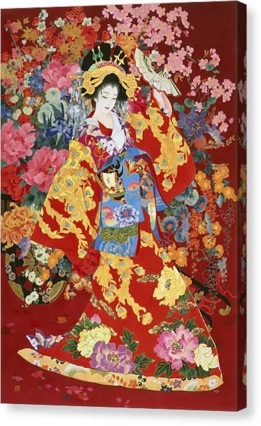 Agemaki Canvas Print