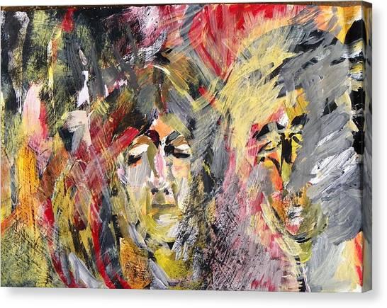 Agony Canvas Print