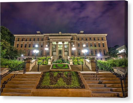 University Of Wisconsin - Madison Canvas Print - Agricultural Hall Uw Madison by Gregory Payne
