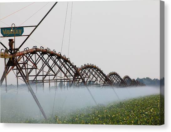 Agriculture - Irrigation 3 Canvas Print