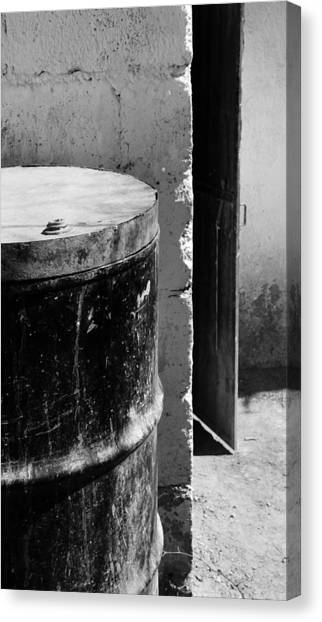 Drums Canvas Print - Agua by Skip Hunt