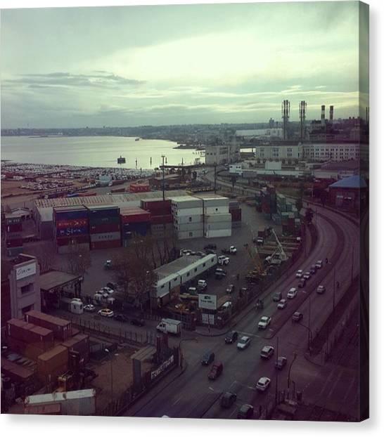 Portal Canvas Print - #aguada #puerto #montevideo #uruguay by Fernando Portal