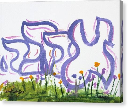 Ahava Ahabah Nf20-145 Canvas Print