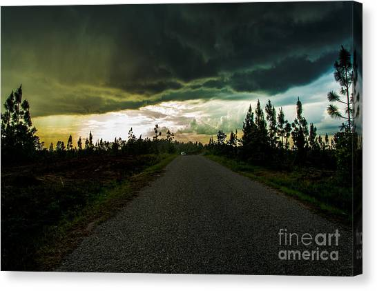 Ahead Of The Storm Canvas Print