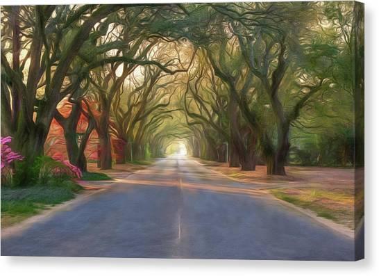 Aiken South Boundary Avenue Canvas Print