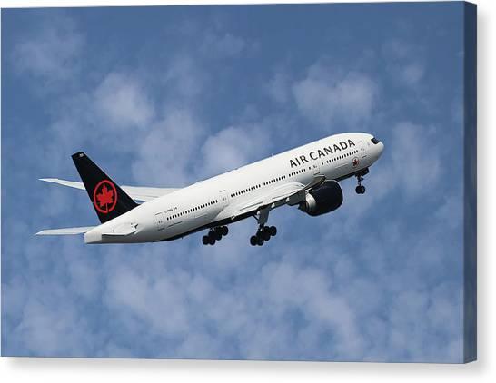 Canada Canvas Print - Air Canada Boeing 777-233 by Smart Aviation