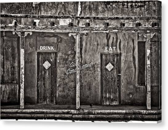 Air Conditioned Canvas Print