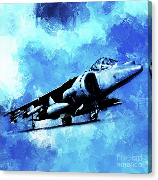 F16 Canvas Print - Air Craft 0024 by Gull G