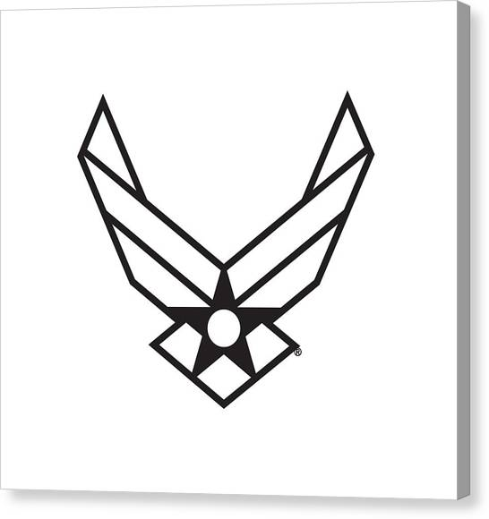 Air Force Logo Canvas Print