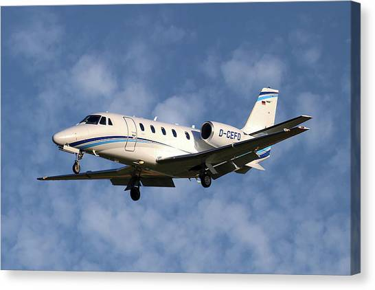 Cessnas Canvas Print - Air Hamburg Cessna 560xl Citation Xls 1 by Smart Aviation