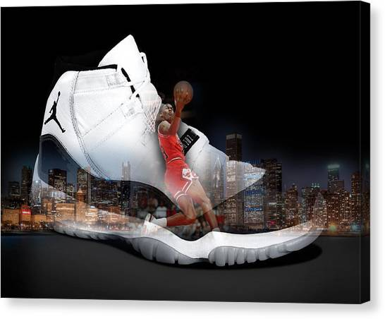 Air Jordan Chicago Canvas Print