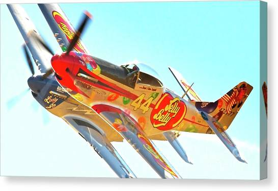 Air Racing Reno Style Canvas Print