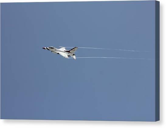 Air Show Canvas Print by Michael Dillard