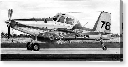 Air Tractor Canvas Print by Lyle Brown
