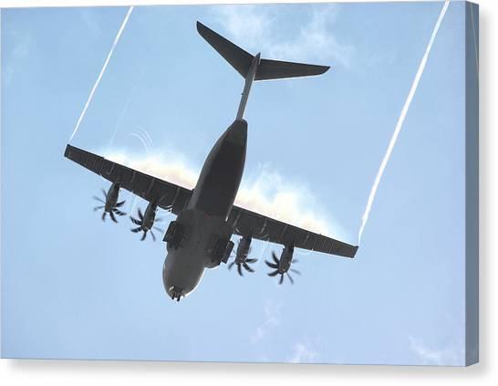 Airbus A400m Canvas Print