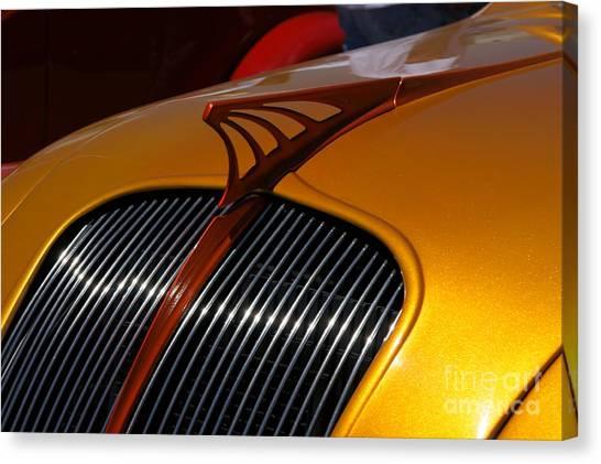Automobiles Canvas Print - Airflow by David Pettit