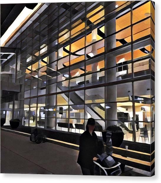 Airport 1.30am Canvas Print