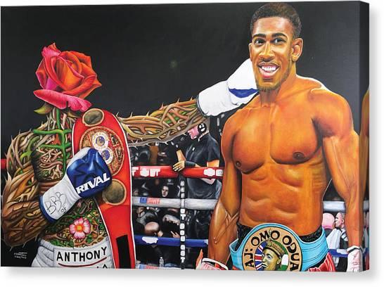 Aj Omo Oduduwa The World Champion Canvas Print