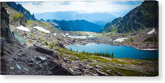 Akaiyan Lake Canvas Print
