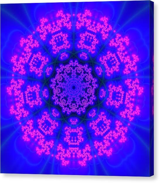Canvas Print featuring the digital art Akbal 9 Beats 4 by Robert Thalmeier