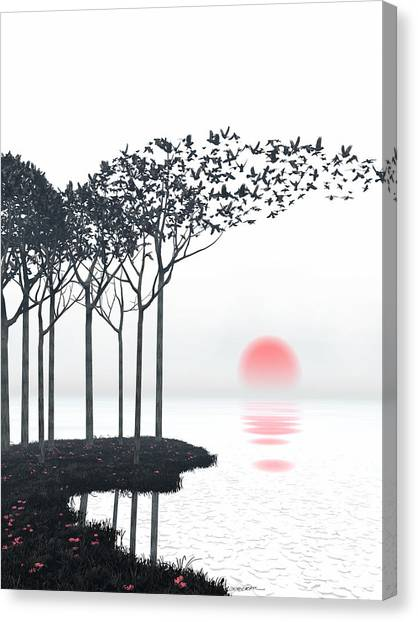 Japanese Canvas Print - Aki by Cynthia Decker