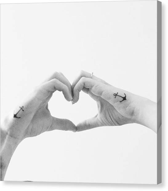 Tattoo Canvas Print - Ako Vzdy Skvela Praca Od by Jakub Horsky